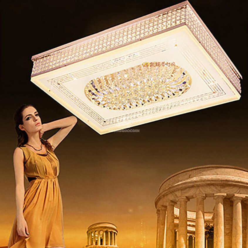 Đèn ốp trần vuông cao cấp nhập khẩu KMD135