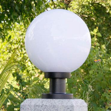 Đèn trụ cổng trắng tinh tế ROL103