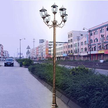 Đèn trụ sân vườn phong cách Châu Âu ROL421