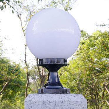 Đèn trụ cổng hình quả bóng ROL104