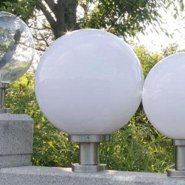 Đèn trụ cổng hình tròn quả địa cầu ROL106
