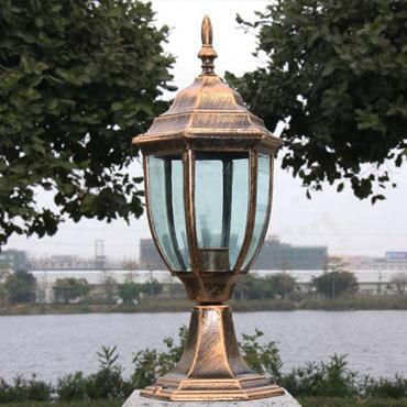 Đèn trụ cổng nhôm cao cấp ROL107