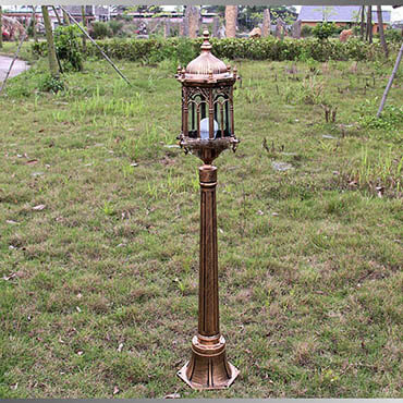 Đèn trụ sân vườn phong cách Châu Âu tinh tế ROL424