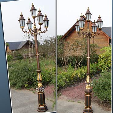 Đèn trụ sân vườn sang trọng ROL423
