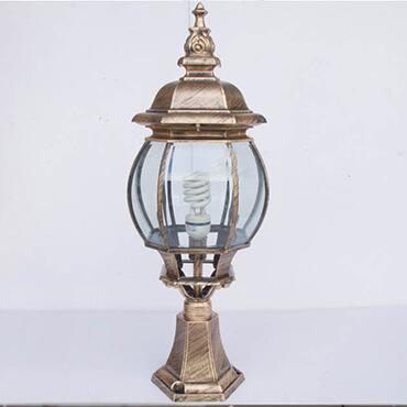 Đèn trụ cổng trang trí Châu Âu ROL458