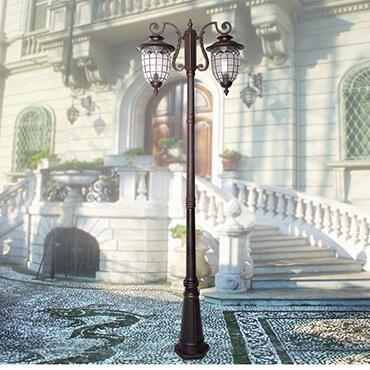 Đèn trụ sân vườn phong cách hiện đại ROL446