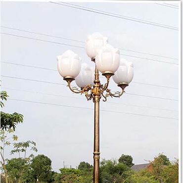 Đèn trụ sân vườn trắng trang nhã ROL473