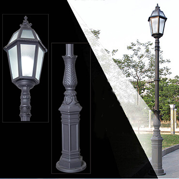 Đèn sân vườn hiện đại tinh tế ROL465