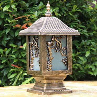 Đèn trụ cổng cổ điển thiết kế sang trọng ROL112