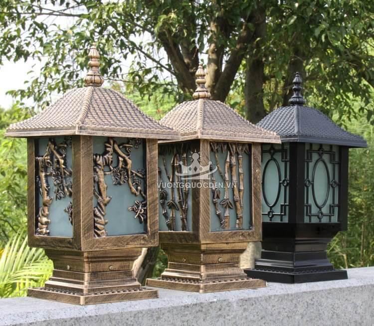 Đèn trụ cổng cổ điển phong cách châu âu ROL118-2