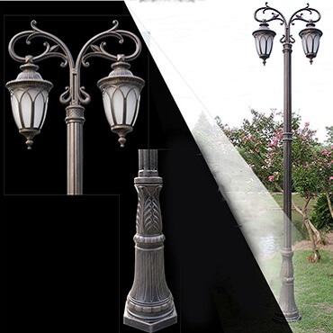 Đèn cây trang trí sân vườn ngoài trời ROL439