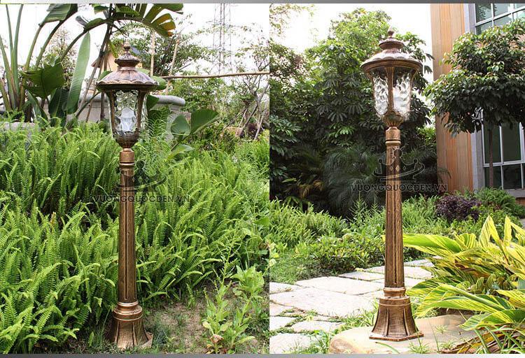 Những mẫu đèn sân vườn thích hợp dùng trong công viên