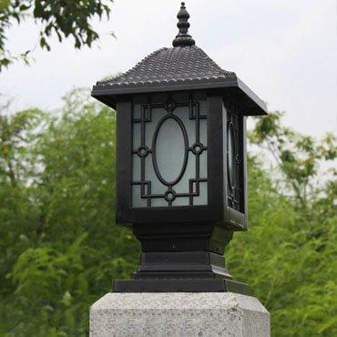 Đèn trụ cổng cổ điển phong cách Châu Âu ROL118
