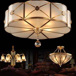 Đèn ốp trần trang trí nghệ thuật ATL6000B (1 bộ 3 đèn)