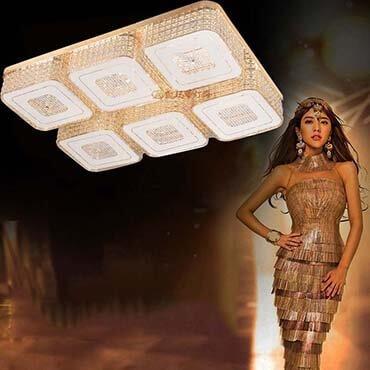 Đèn ốp trần led hình chữ nhật KMD110