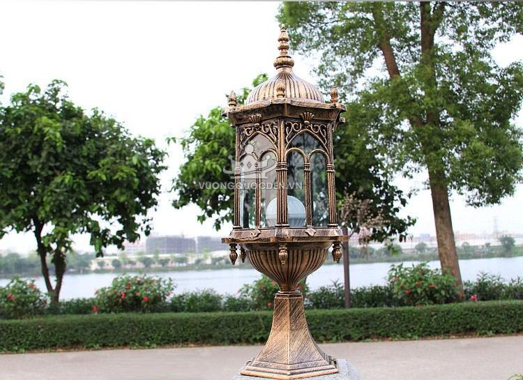 3 loại đèn nhập khẩu phong cách Châu Âu sử dụng trong không gian sân vườn