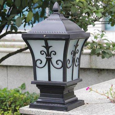 Đèn trụ cổng hiện đại hoa văn tinh tế ROL136
