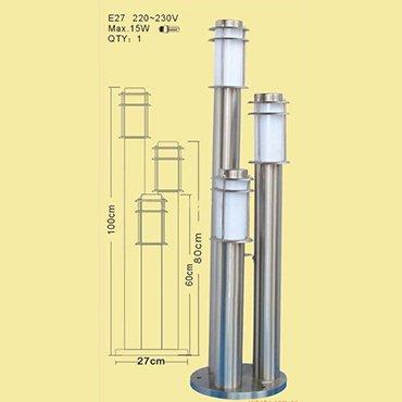 Đèn năng lượng măt trời ba bóng ROL349