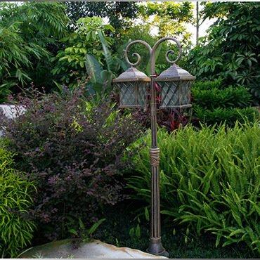 Đèn trụ sân vườn cổ điển Châu Âu ROL430