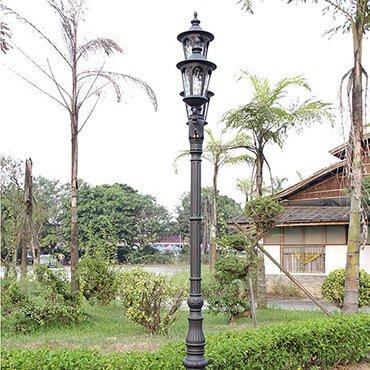 Đèn trụ sân vườn thiết kế trang nhã ROL444