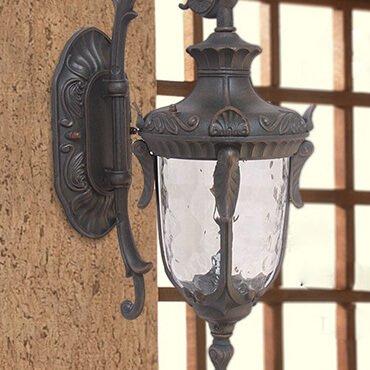 Đèn tường chiếu sáng sân vườn không thấm nước ROL493
