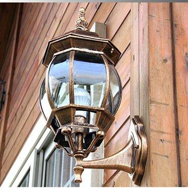 Đèn tường chống thấm nước hình bí ngô ROL499