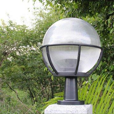 Đèn trụ cổng hình cầu cao cấp ROL170