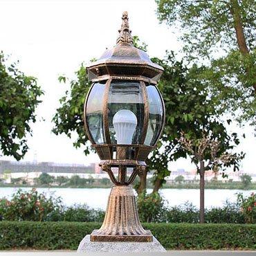 Đèn trụ cổng trang trí ngoài trời ROL133