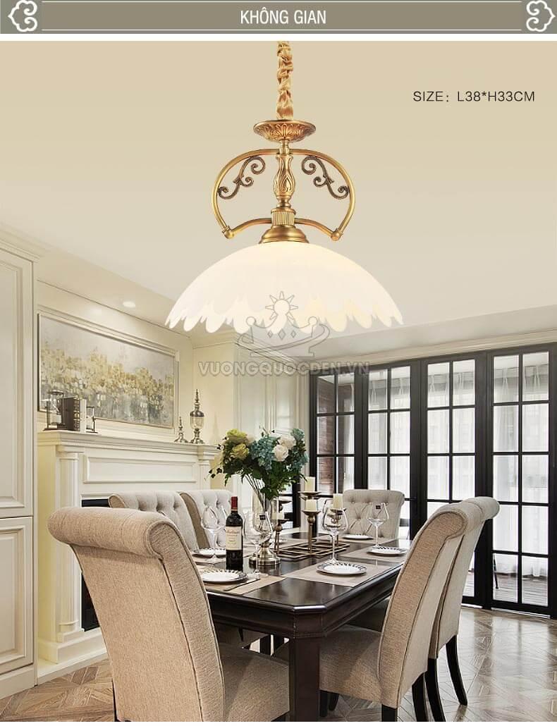 Gợi ý những mẫu đèn thả trần đơn phù hợp với từng phong cách kiến trúc đa dạng