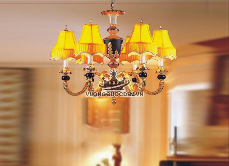 Đèn chùm đồng phòng khách với thiết kế đa dạng đáng để sở hữu