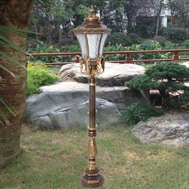 Bộ sưu tập đèn trụ sân vườn cao cấp phong cách cổ điển Châu Âu sang trọng