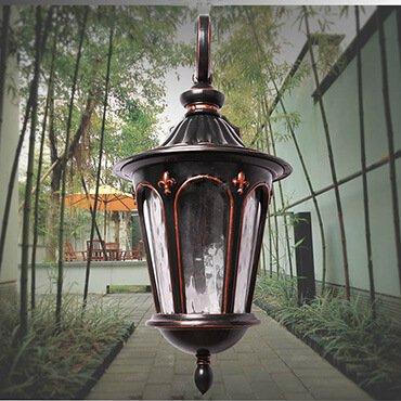 Các loại đèn sân vườn phổ biến trang trí ngoại thất đẹp