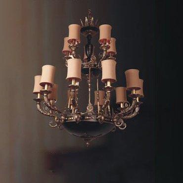 Đèn chùm Châu Âu cổ điển WND6009-15