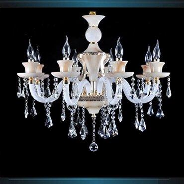 Đèn chùm phòng khách cổ điển Châu Âu LDH155