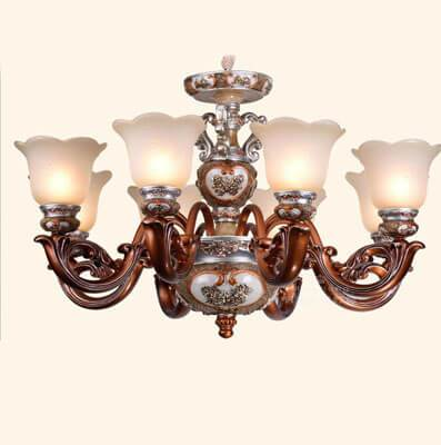 Đèn chùm sắt phong cách tân cổ điển ML103