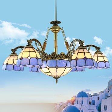 Đèn chùm trang trí Địa Trung Hải YB203