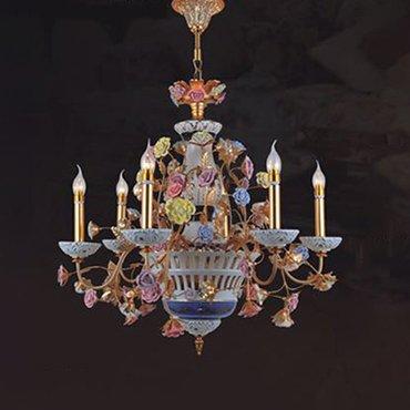 Đèn chùm trang trí phong cách Ý WND8001-6A