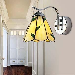 Đèn gắn tường trang trí Tiffany kính màu nghệ thuật YB306