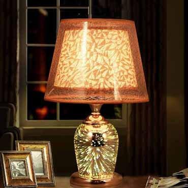 Đèn ngủ thủy tinh 3D nhập khẩu YLM U831