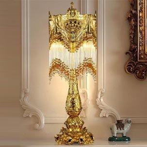 Đèn bàn đồng nhập khẩu đẹp ABR112