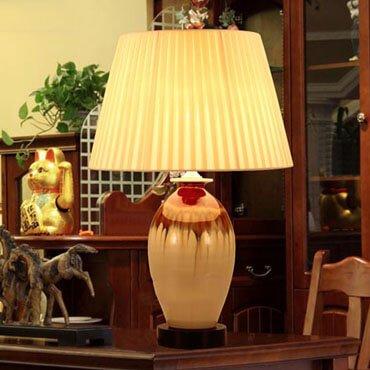 Đèn bàn gốm cổ điển YLM U934