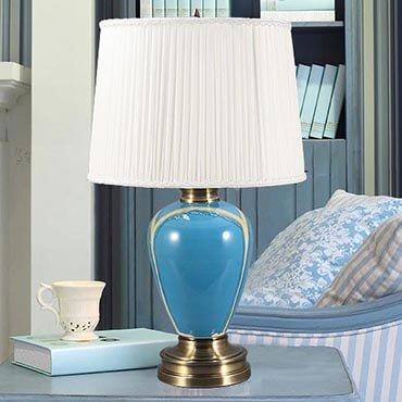 Đèn bàn gốm phong ngủ cao cấp YLM U811