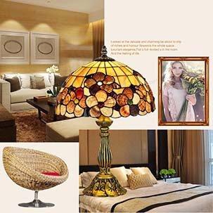 Đèn bàn nhập khẩu trang trí phòng cưới lãng mạn YB501