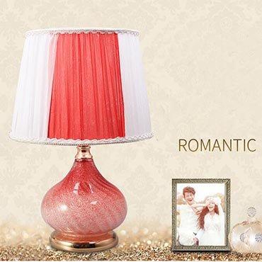 Đèn để bàn sắc hồng ngọt ngào YLM T201