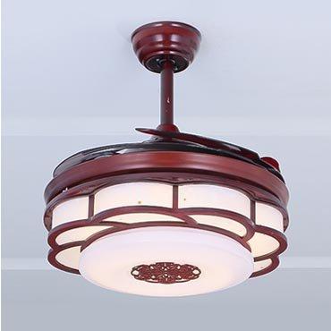 Đèn quạt trần gỗ nhập khẩu JC8520