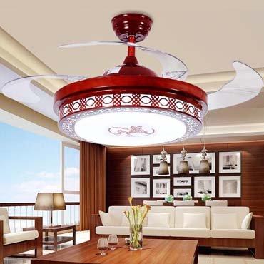 Đèn quạt trần gỗ JC8580