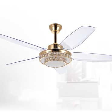 Quạt trần đèn nhập khẩu pha lê FG SL8660