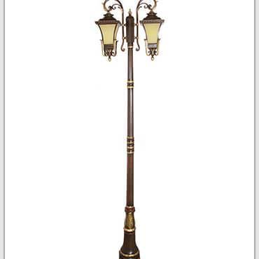 Sự cuốn hút mạnh mẽ từ những chiếc đèn trụ sân vườn nhập khẩu hai bóng đẹp