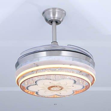 Đèn quạt trần kiểu dáng đơn giản sang trọng JC8031