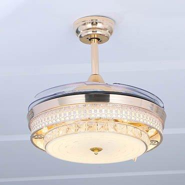 Đèn quạt trần thiết kế tinh tế sang trọng JC8096